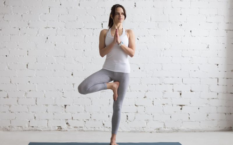 Simple yoga poses for daily practice