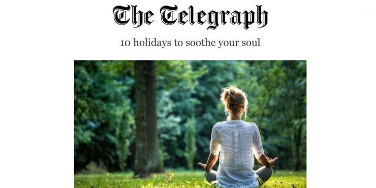 As Featured in The Telegraph